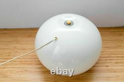 DARUMA Vintage Table Lamp Murano Glass by SERGIO ASTI for FONTANA ARTE Italy 70s
