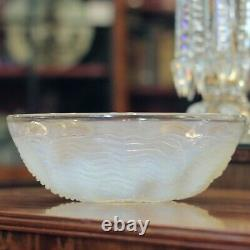 Dauphin' Opalescent Glass Bowl by Rene Lalique