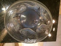 Lalique Ondines Opalescent Bowl