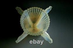Pierre D'Avesn French Art Deco Opalescent Glass Vase c1930