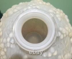 R. Lalique Opalescent Druide Vase