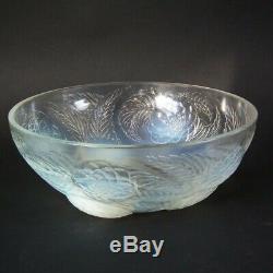 Rene Lalique Opalescent Glass'Dahlias No. 1' Bowl