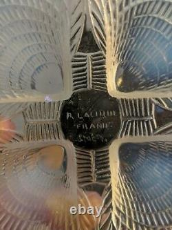 Rene Lalique opalescent Coquilles Side Plate, No 3012, 1920s deco 6 available