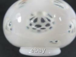 Vintage Fenton French Opalescent Coin Dot Vanity Set ca. 1940's (#600-5)