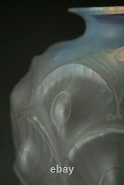 Antique Art Déco Sabino Opalescent Glass Vase Peacock Pattern Antique Art Déco Sabino Opalescent Glass Vase Peacock Pattern Antique Art Déco Sabino Opalescent Glass Vase Peacock Pattern Antique Art Déco Sabino