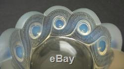 Cristal Lalique Opalescent Art Déco Gao Cendrier