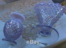 Fenton Glassmint & Prfc1944vintagexsrcwisteriaopalescenthobnail6.5fan Vase