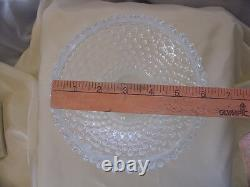 Fentonglassvintage60sxsrcfr White Opalescenthobnailminiature Lampe Étudiante