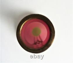 Loetz Kralik Autriche Superposition Rose Opalescent Uranium Art Nouveau Vase En Verre 1900