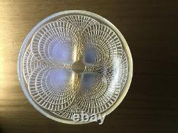 R. Lalique Bowl Coquille Opalescent, 1924 En Bon État, 13 CM Diamètre