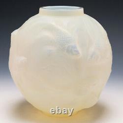 R Lalique Cased Opaescent Formose Vase Introduit En 1934