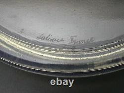 R. Lalique Français Opalescent Art Glass'happes' Powder Bowl C. 1930