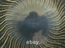 R Lalique Opalescent 10 Pouces Actinia Crystal Bowl