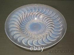 R Lalique Opalescent Crystal Bowl Actinia 10
