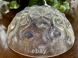 Rene Lalique Bulbes Numéro 2 Opalescent Bowl 8 Signé R Lalique Mint Condition