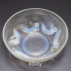 René Lalique Ondines Bowl Conçu 1921 Marcilhac 380