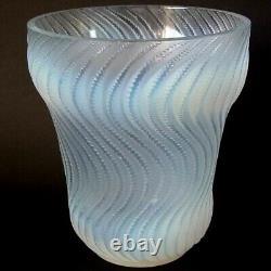 Rene Lalique Opalescent Glass'actinia' Vase