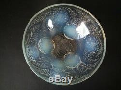 René Lalique Opalescent Glass'dahlias No. 1' Bowl