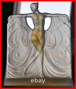 Sabino Opalescent Glass Figure Modèle Suzanne Au Bain