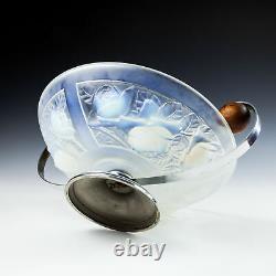Un Art Déco Julien Opalescent Glass Bowl C1930
