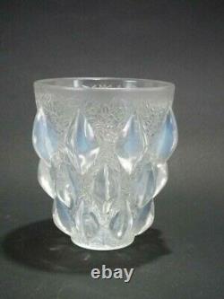 Vase ' René Lalique Opalescent Glass'rampillion